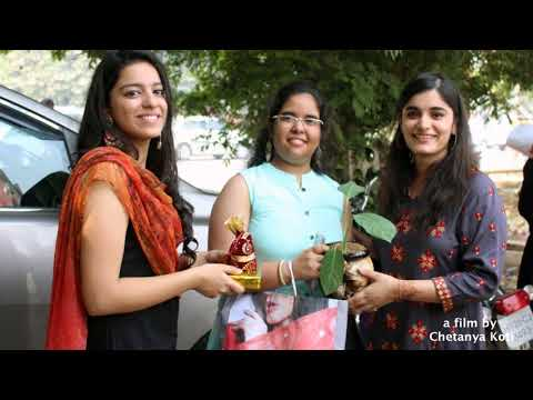 Edutri Diwali celebration   Spreading smiles among Slum children   a film by Chetanya koti