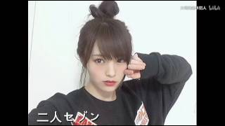 NMB48 山本彩の二人セゾン 山本彩 動画 14