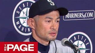 【全編】イチロー選手が引退会見「後悔などあろうはずがない」(2019年3月21日)
