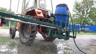 як зробити навішення на саморобний трактор