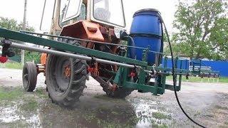Оприскувач на трактор
