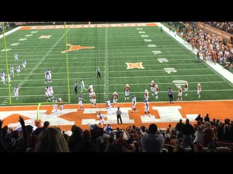 TCU - Trevone Boykin touchdown flip
