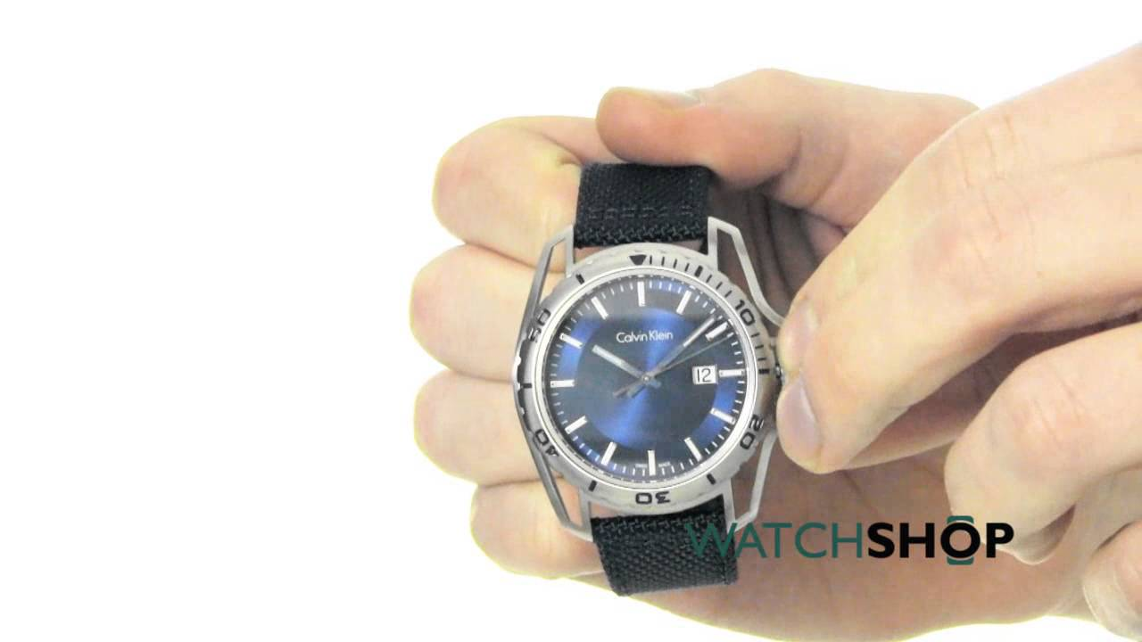 64ae9e55d Calvin Klein Men's Earth Watch (K5Y31UVN) - YouTube