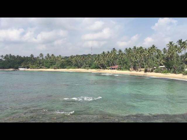 Dickwella strand in het Zuiden van Sri Lanka