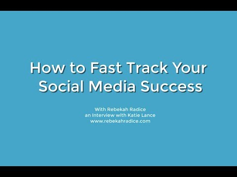 How to Fast Track Your Social Media Success