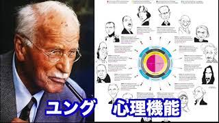 仙人さんが活用されている心理機能の原点である心理学者カール・グスタ...