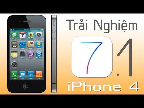 Trải nghiệm iOS 7.1 - Bản nâng cấp đáng giá cho iPhone 4.