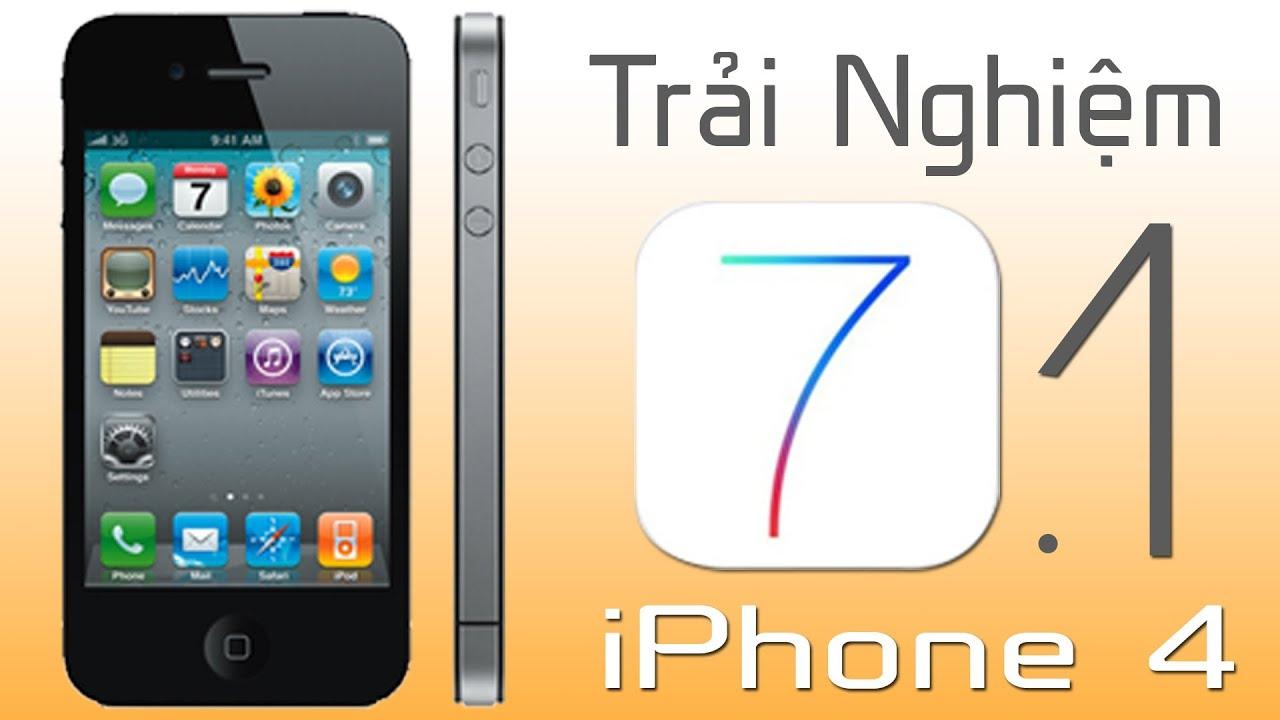 Trải nghiệm iOS 7.1 – Bản nâng cấp đáng giá cho iPhone 4.