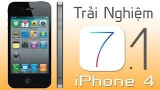 [Di Động Thông Minh] Trải nghiệm iOS 7.1 - Bản nâng cấp đáng giá cho iPhone 4.