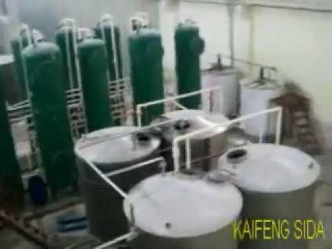 glucose syrup plant working video