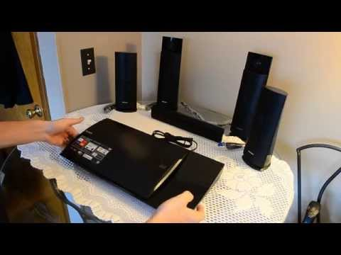Sony BDV-N790W Home Theater System Unboxing