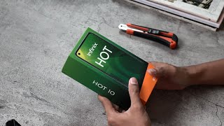 HOT JELETOT ANTI KALAH | Unboxing Infinix Hot 10