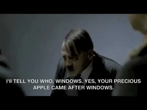 Hitler Reacts to Mizzou's Policy of No PCs in the Journalism School