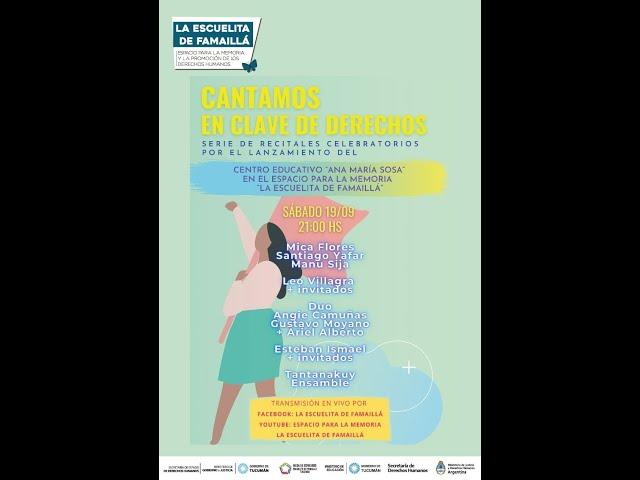 CANTAMOS EN CLAVE DE DERECHOS - Recital Celebratorio N°2