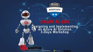EXAM AI-100 Designing and Implementing an Azure AI Solution 3-Days Workshop - Summary