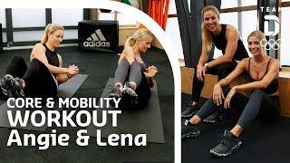 Core & Mobility mit Angelique Kerber und Lena Gercke | Trainingshelden