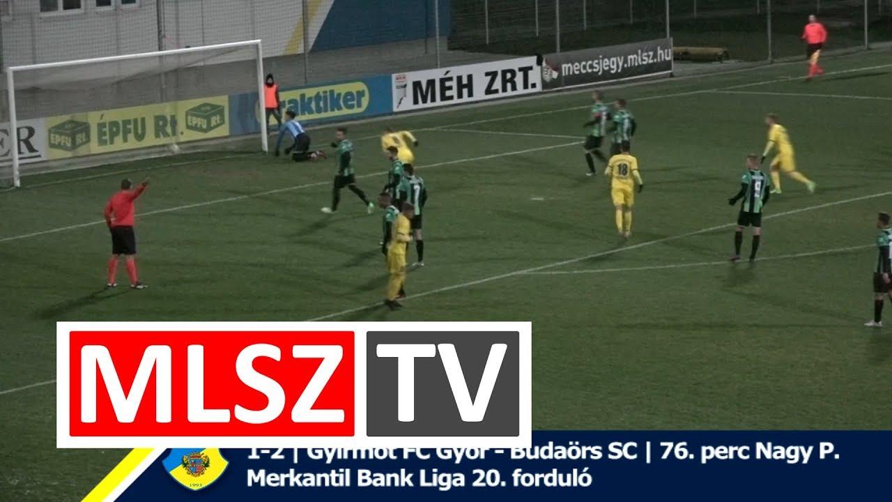 Gyirmót FC Győr – Budaörs |1-3 (0-2) | Merkantil Bank Liga NB II.| 20. forduló |