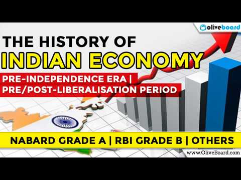 HISTORY OF INDIAN ECONOMY | NABARD GRADE A | RBI GRADE B | OTHERS