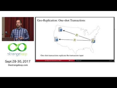 """Geo-Replicated Transactions in 1.5RTT"" by Robert Escriva"