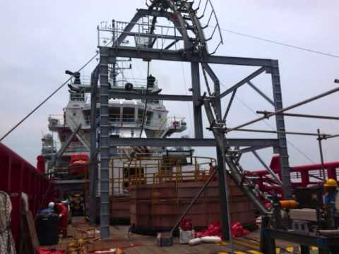 Installation of Laying Subsea Cable PT. Transerve Indonesia