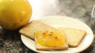 A Receita do Mesa - Geleia de casca de maracujá