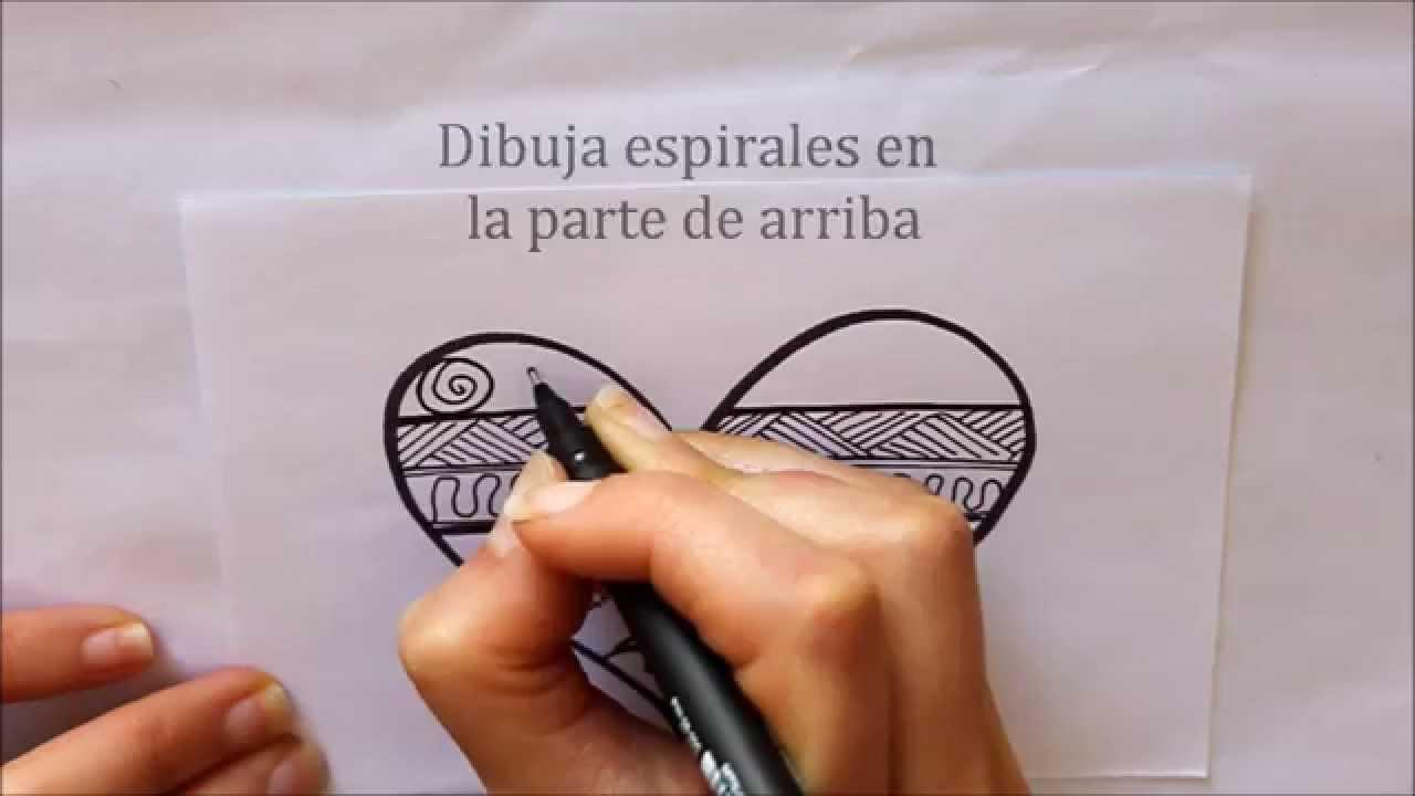 Cómo dibujar un Corazón con Doodle Dibuja Conmigo Dibujos ...
