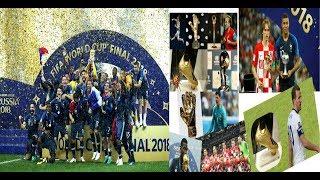 World Cup 2018 Awards |All world cup winner list 2018 | Golden Ball, Boot, Gloves Winner FIFA 2018