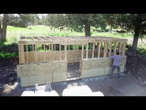Hempcrete Root Cellar by Perennial Building
