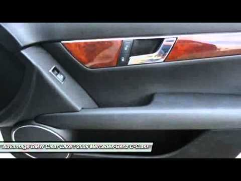 2009 Mercedes Benz C Class At Advantage BMW Clear Lake 9F214