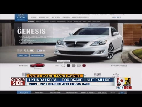 Bad break lights prompt Hyundai recall