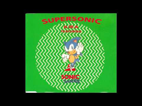 H.W.A featuring Sonic The Hedgehog - Supersonic (1992)