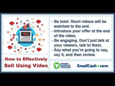 Effective Video Marketing Strategies - Internet Marketing Strategies