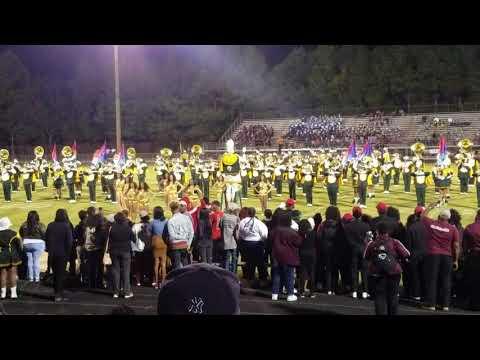 Norfolk State performance @Nansemond River Band Day 2017