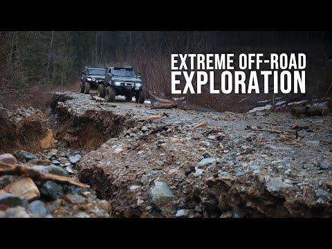 EXTREME Off-Road Exploration   Jeep Gladiator Epic Adventure