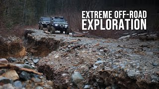 EXTREME Off-Road Exploration | Jeep Gladiator Epic Adventure
