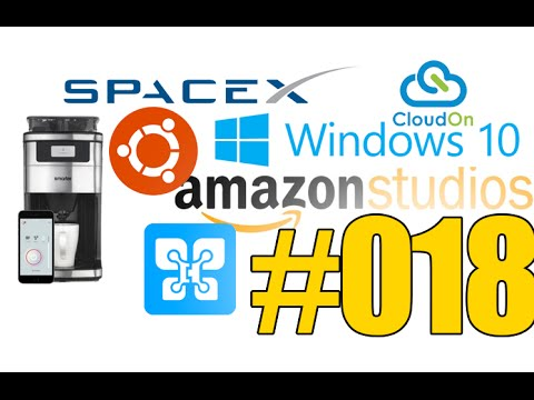 #18: Windows 10, Internet par satellites, Objets connectés sous Ubuntu, Drop Box rachète CloudOn,...
