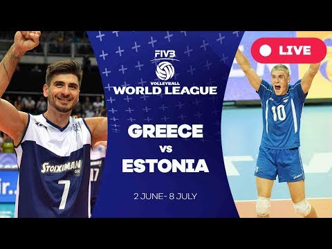 Greece v Estonia - Group 3: 2017 FIVB Volleyball World League