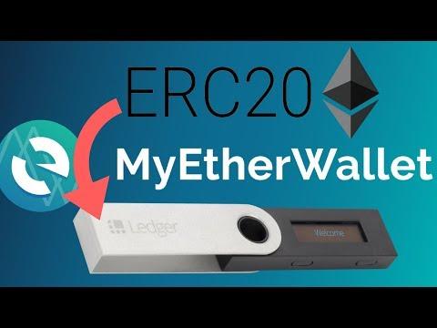 Store ERC20 Tokens On Hardware Wallet   Ledger Nano S + Trezor   MyEtherWallet