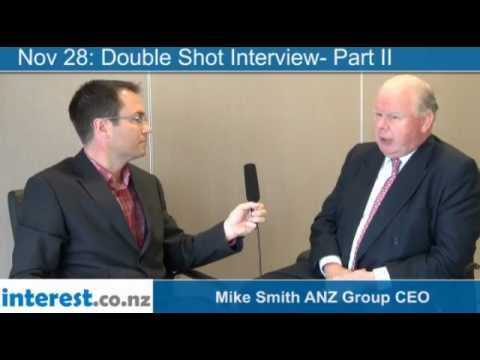 Double Shot Interview-Part II:  Mike Smith ANZ Group CEO with Gareth Vaughan
