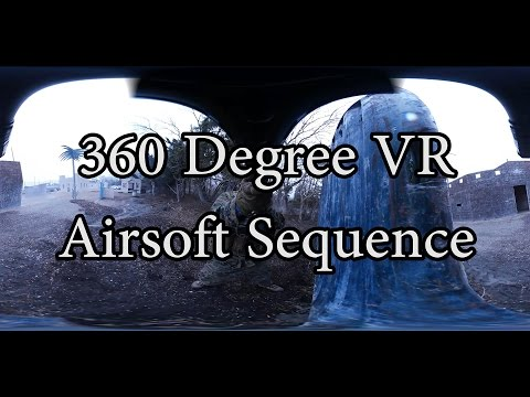 True 360 Degree VR Airsoft Sequence