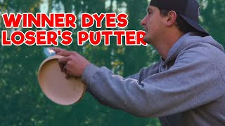 Winner Dyes Loser's Putters | 9 Hole Disc Golf Match