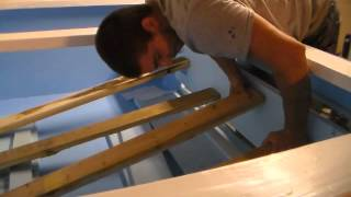How To Install Glass In Plywood Tank