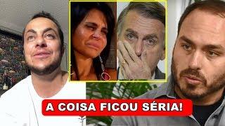 Thammy Miranda se pronuncia, apos filho de Bolsonaro ter atitude surpreendente.