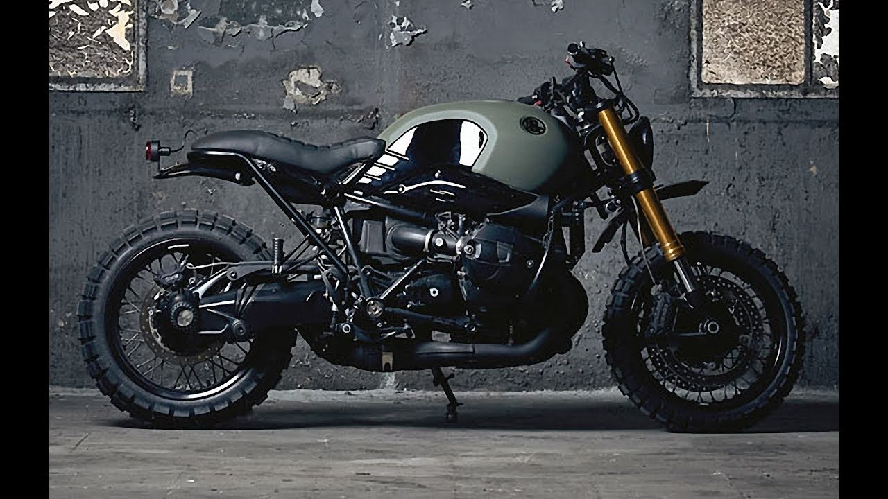 Bmw R Ninet Scrambler By Ad Hoc Cafe Racers Youtube