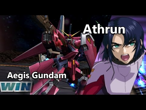 Gundam Vs. Gundam NEXT PLUS: Aegis Gundam - Arcade Mission A (Route B)