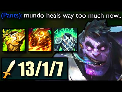 DR MUNDO REWORK IS INSANE!! How a Challenger Player found out the best way to play NEW MUNDO!