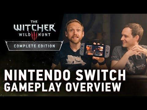 The Witcher 3 para Nintendo Switch presenta tráiler y concreta su fecha de lanzamiento