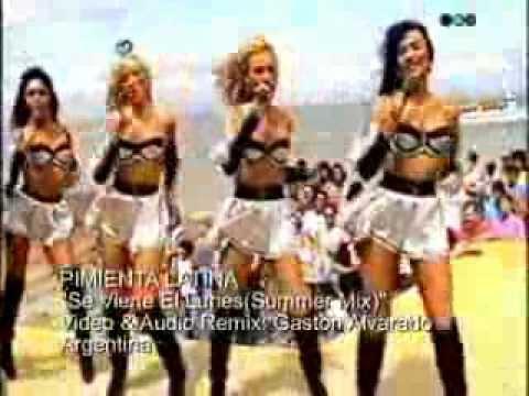 PIMIENTA LATINA- Se Viene El Lunes(Summer Mix)