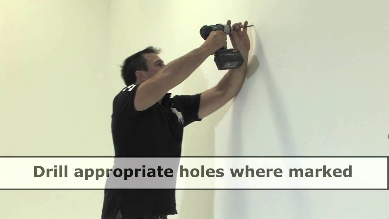 How To Hang A Mirror On Plasterboard