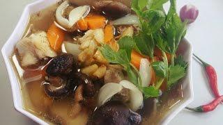 Món Ăn Ngon - Gà Nấu Tỏi thơm ngon hấp dẫn